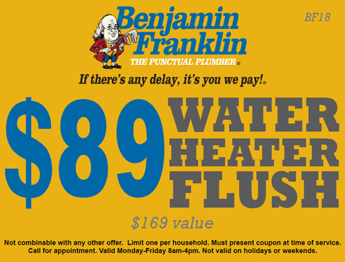 $89 Water Heater Flush