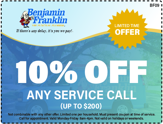 10% Off Any Service Call Up To $200