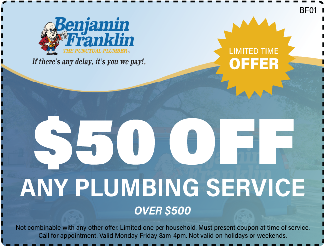 $50 Off Any Plumbing Service