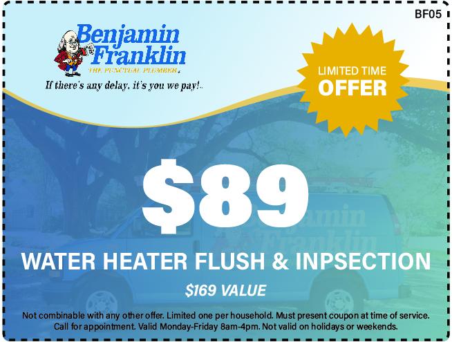$89 Water Heater Flush